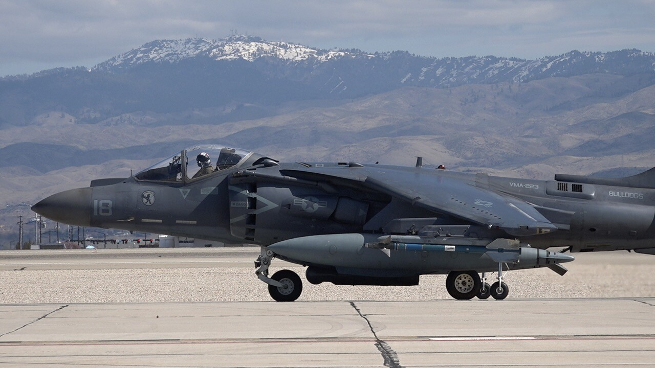 AV-8B Harrier Jet