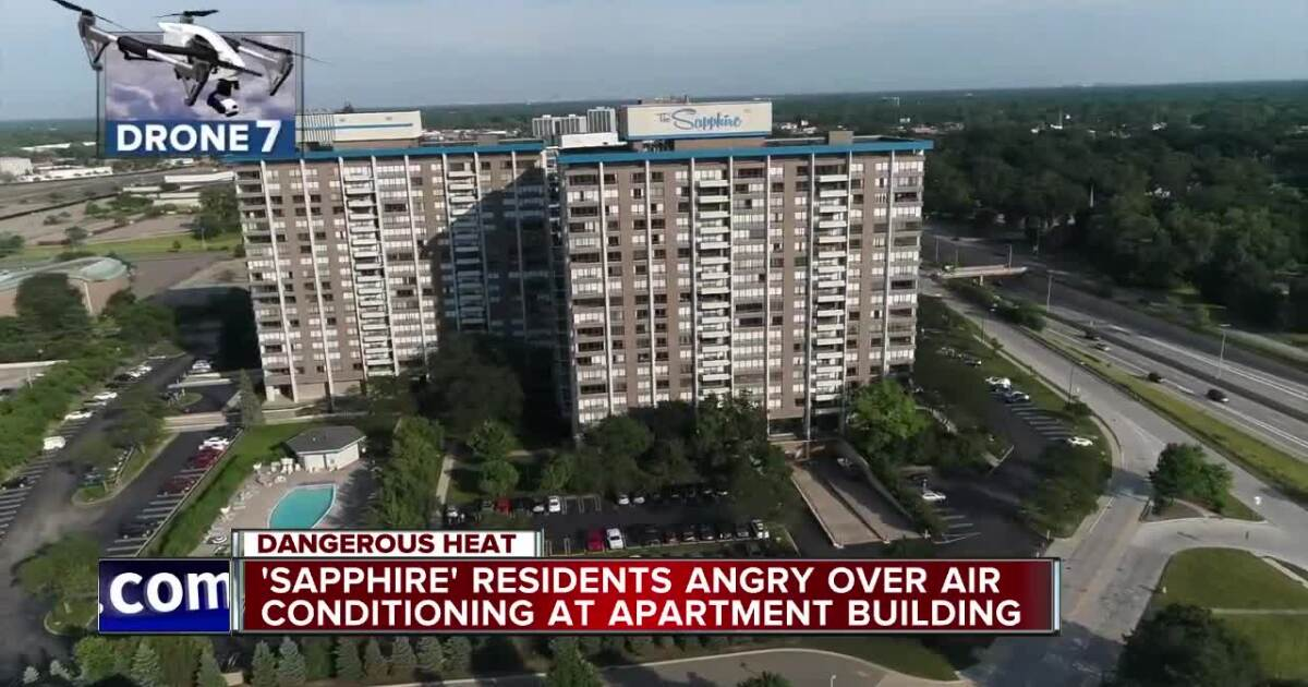Air conditioning issues raising concerns at Southfield apartment complex
