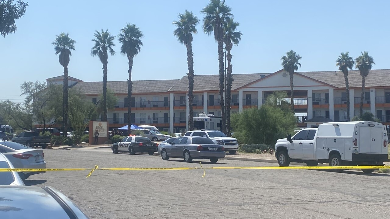 Pima County Sheriff's deputies responded to an armed, barricaded suspect on Butterfield Drive Tuesday.