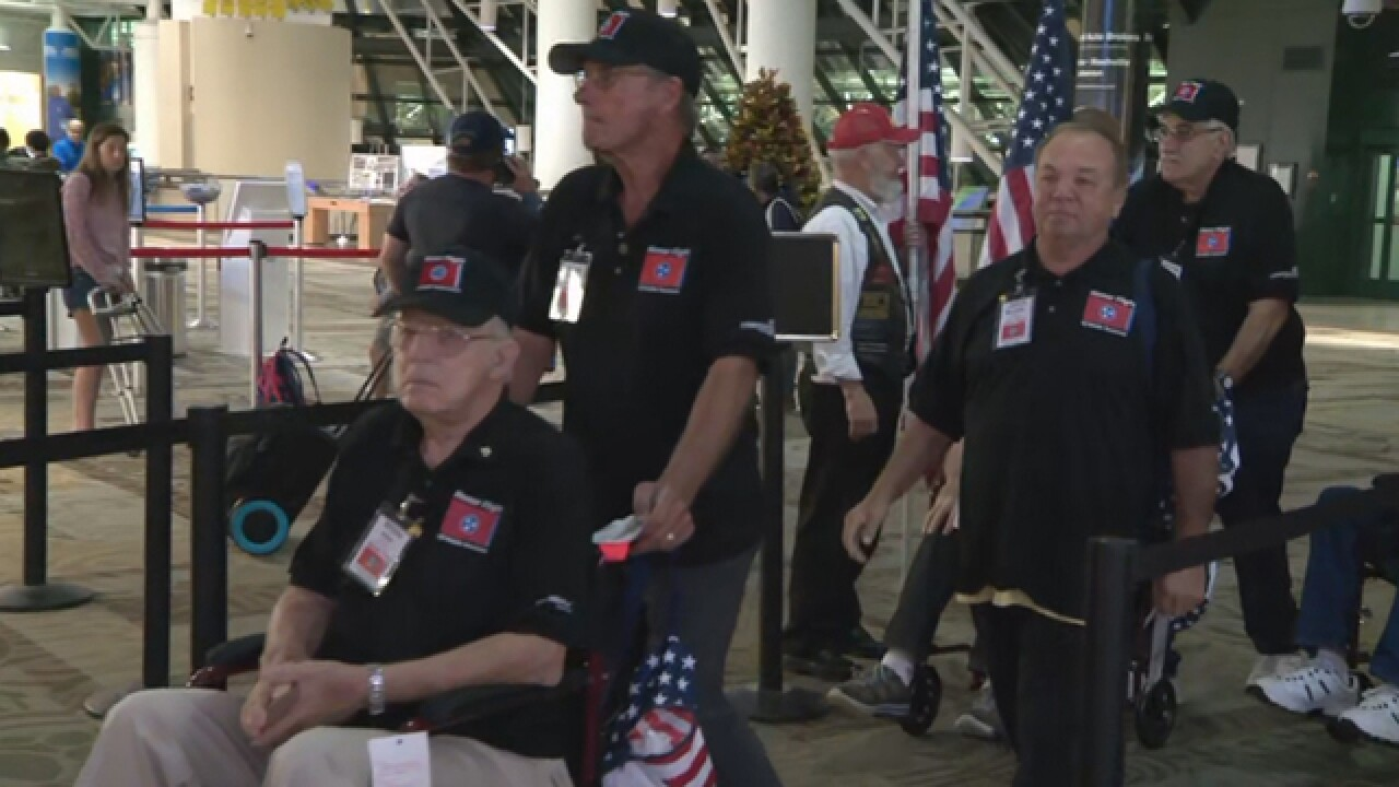 Honor Flight Bound For DC Takes Off From Nashville