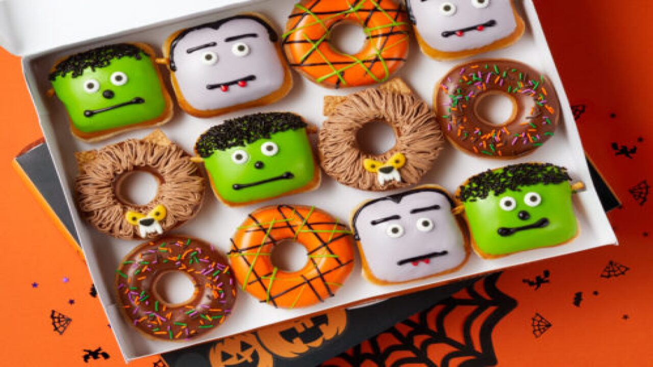 Krispy Kreme Has Monster Doughnuts And $1 Saturdays Throughout October