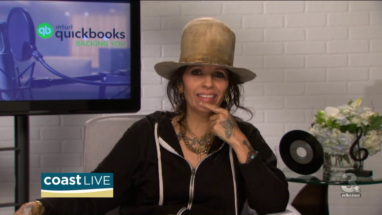 Singer, songwriter and producer Linda Perry talks about the future of music on CoastLive