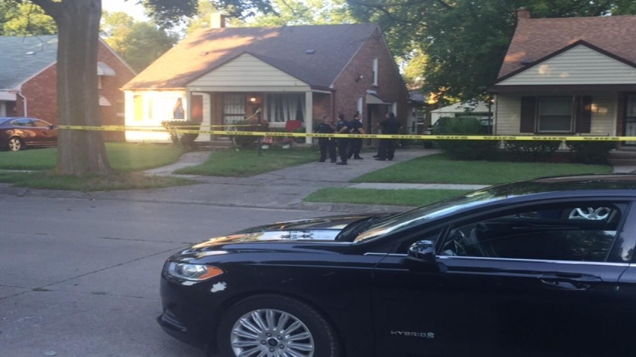 10-month-old baby run over and killed in Detroit