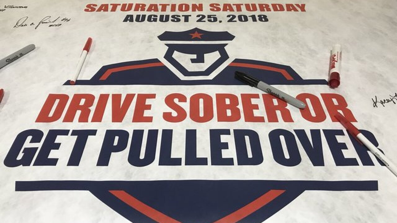 Police, MADD team up to take down drunk drivers
