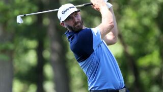 Dustin Johnson Rocket Mortgage Classic round 1