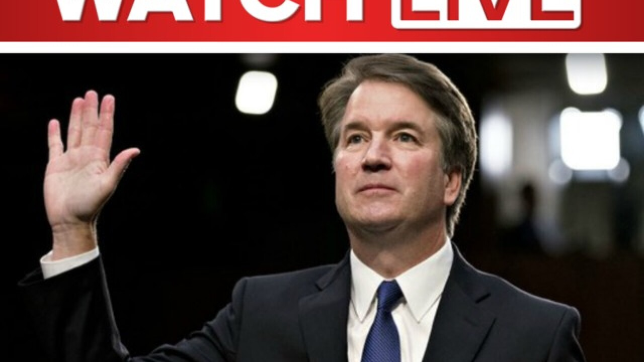 Kavanaugh-Ford hearing in Senate today