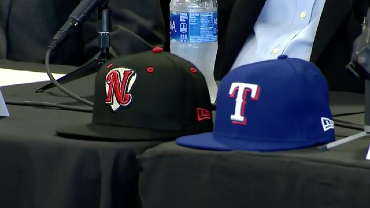 Nashville Sounds, Texas Rangers Announce 4-Year Contract