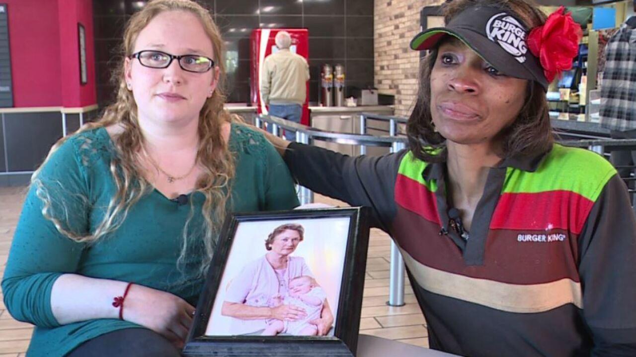 Queen of Kindness serves more than meals at Mechanicsville BurgerKing