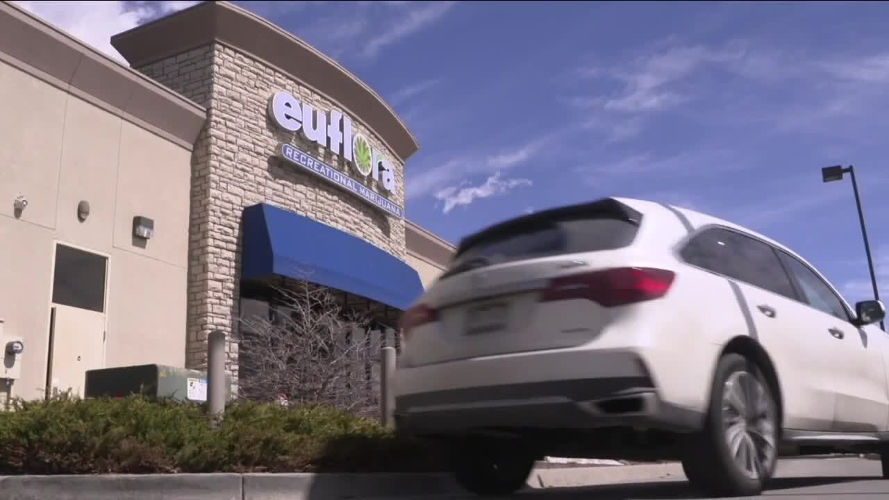 Denver discusses permanently allowing drive-thru, walk-up dispensary sales