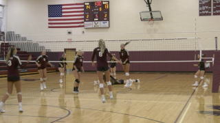 Manhattan Christian volleyball survives scare from Choteau