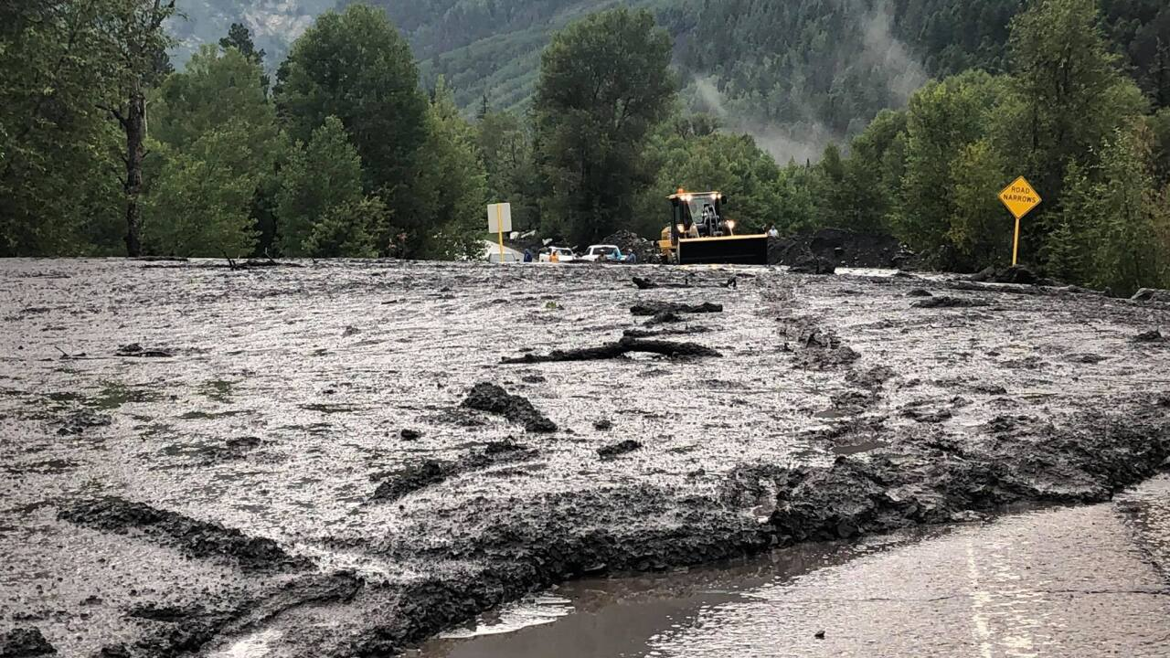 Mudslide Rockslide Reported In Marble Wednesday Evening