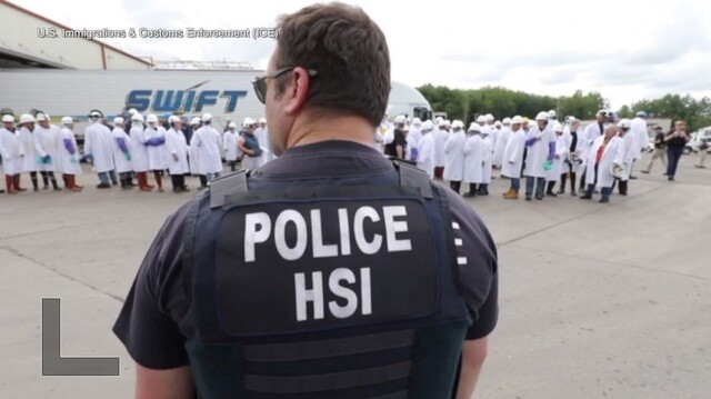 Detained illegal immigrants enter a backlogged immigration legal system