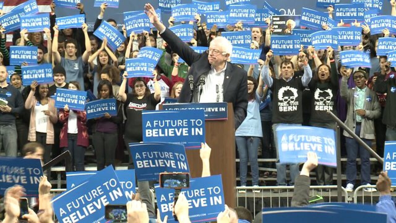 Large crowd shows up at Norfolk Scope for Bernie Sanders: 'It feels like things will actuallychange'