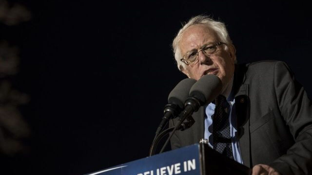 Bernie Sanders' campaign laying off staffers