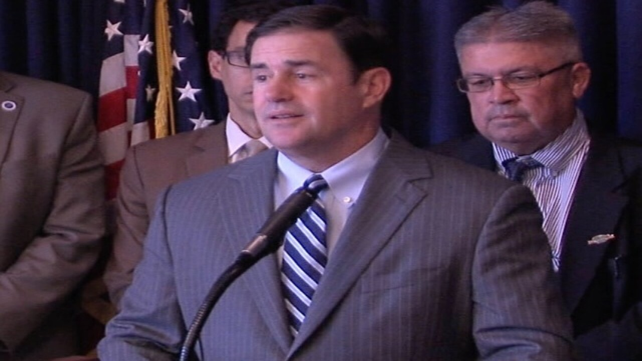 Ducey: Freeway shootings public safety issue