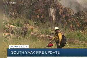 South Yaak   fire update - 7/28