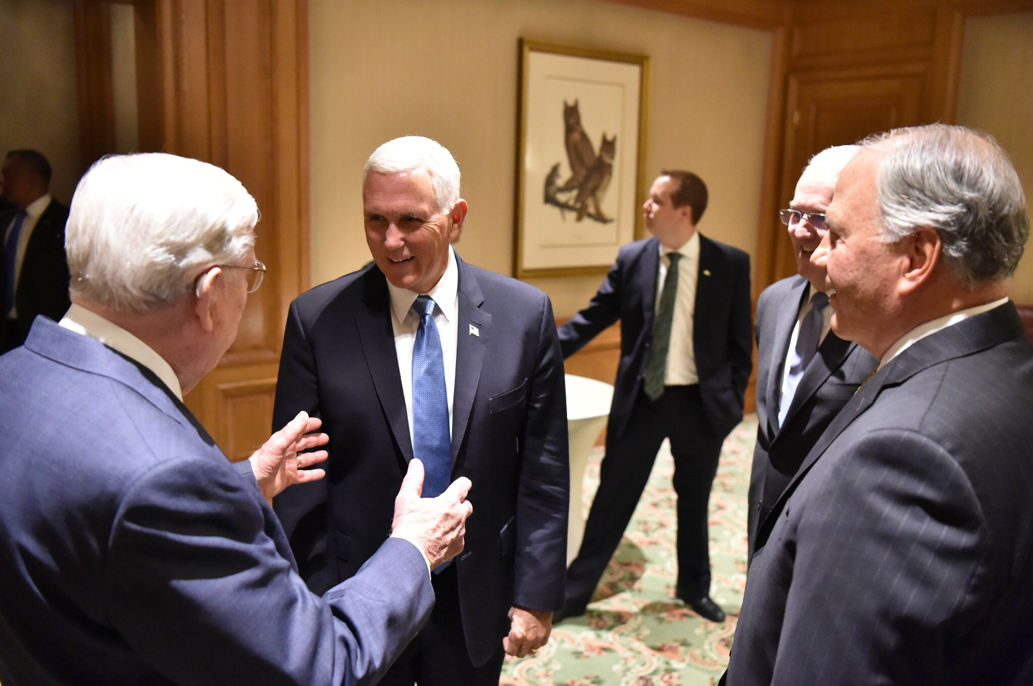 Photos: Pence meets with Latter-day Saint churchleaders