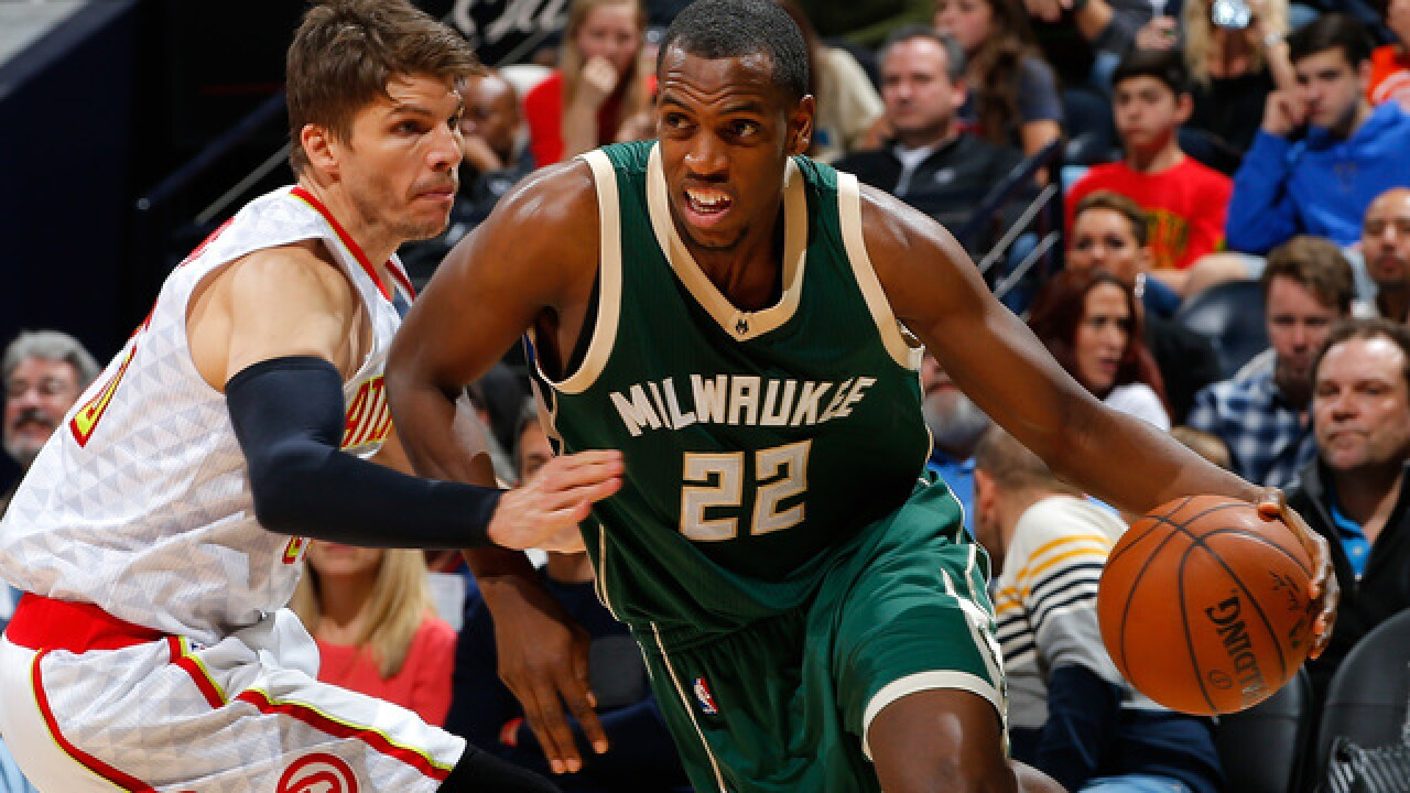 Milwaukee Bucks' Khris Middleton could return to the lineup soon