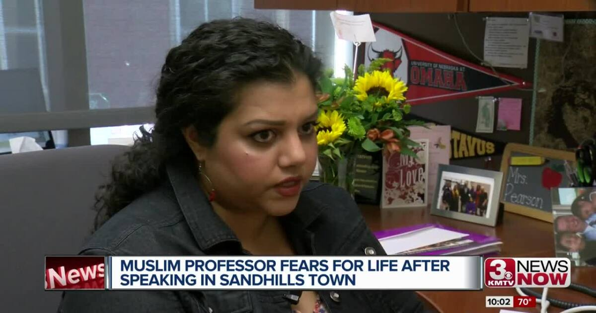 Muslim speaker fears for life after visiting Sand Hills town