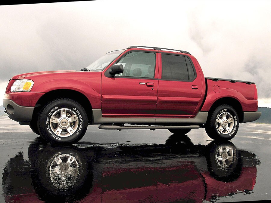 2004 Ford Explorer Trac: Compact Pickup