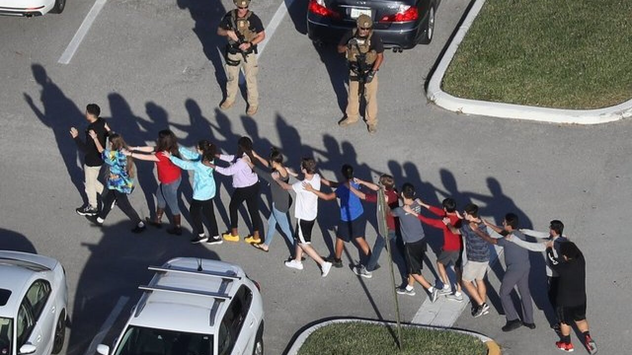 There has been, on average, one school shooting every week this year