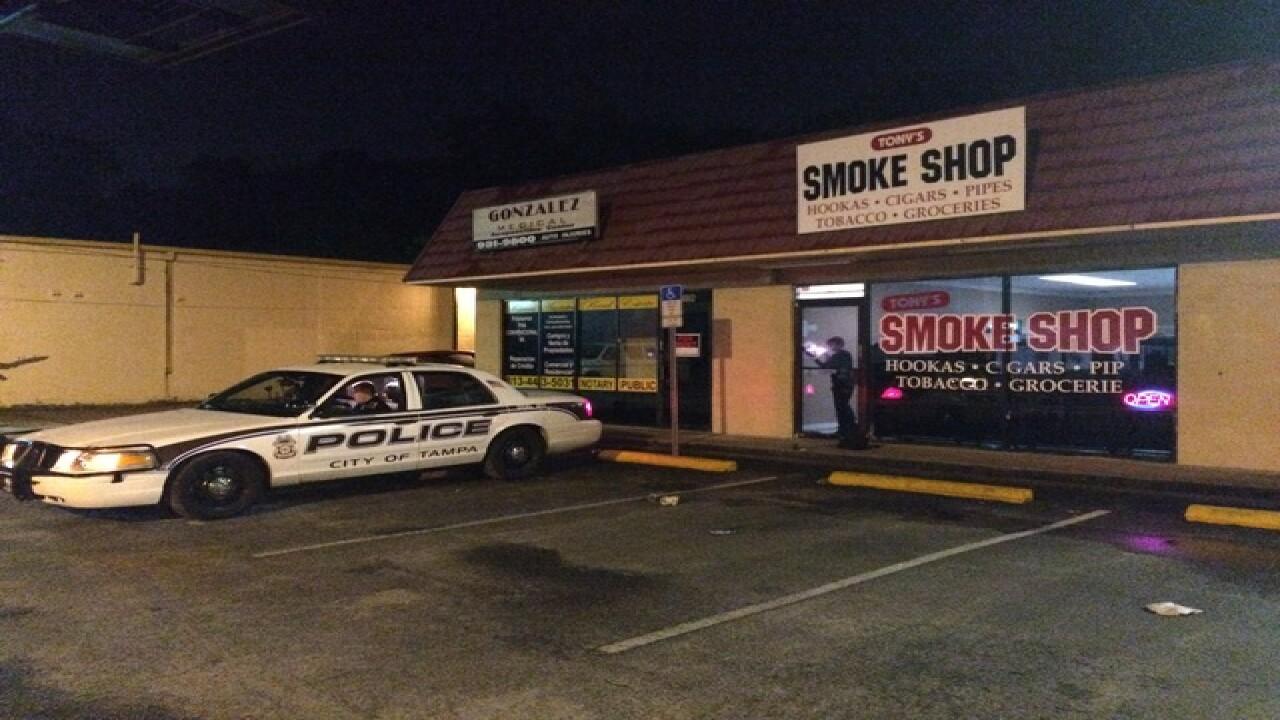 Smoke shop shooting sends man to hospital