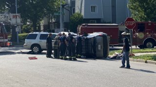 Benton Blvd crash