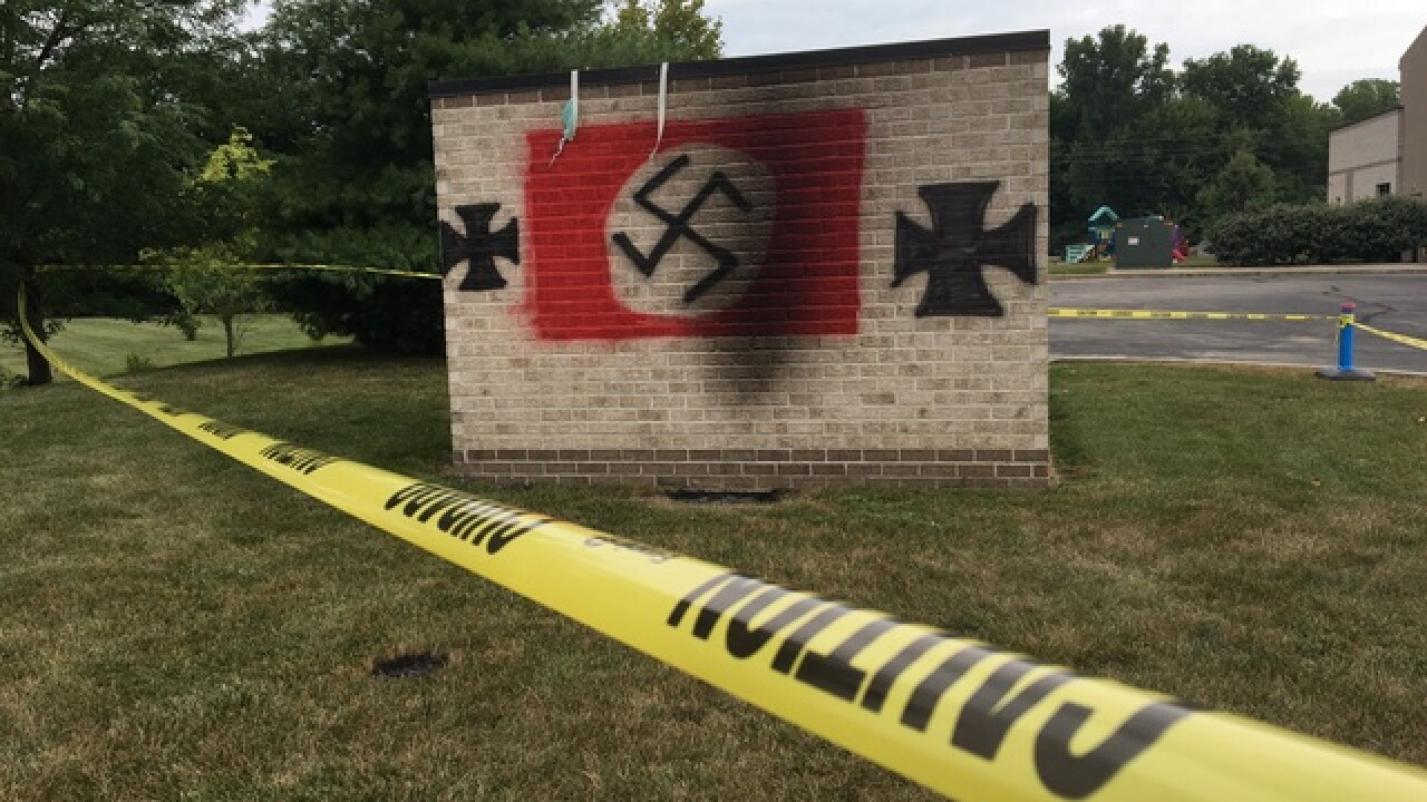 Anti-Semitic graffiti found on Indiana synagogue