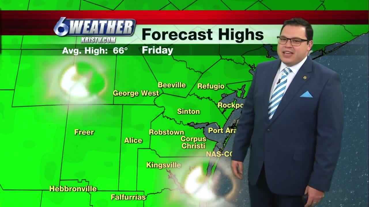 Juan Acuña's weather forecast for Jan. 8