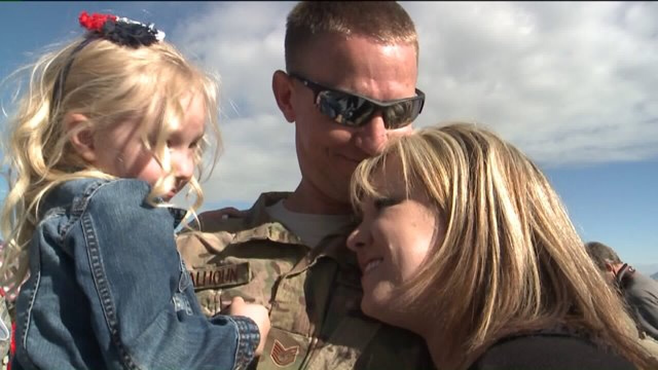 421st Fighter Squadron returns from deployment toAfghanistan