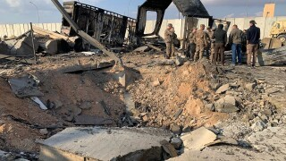 US troops in Iraq got warning hours before Iranianattack