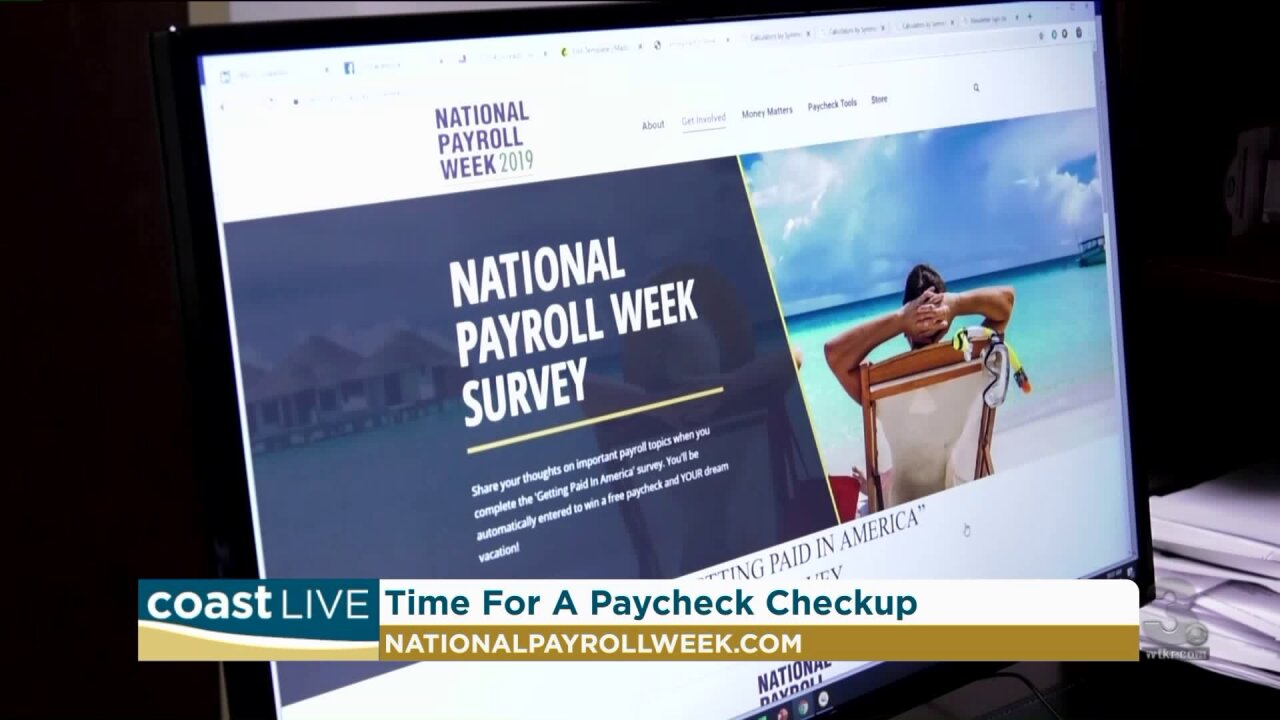 How to do a paycheck check-up for National Payroll Week on Coast Live