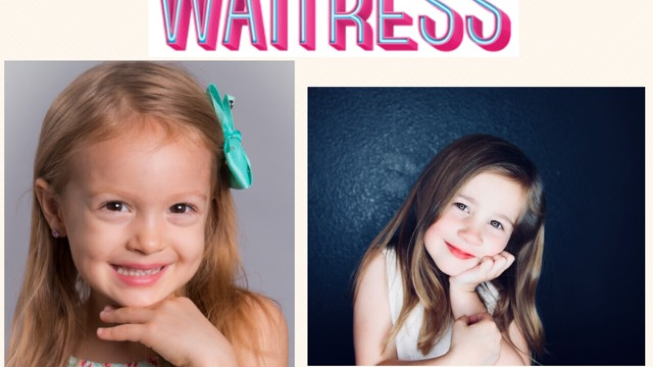 Local girls to star in 'Waitress'
