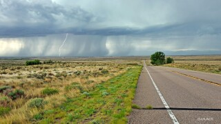Eastern Pueblo County lightning
