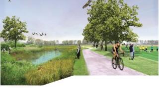 Parkville wetlands restoration project