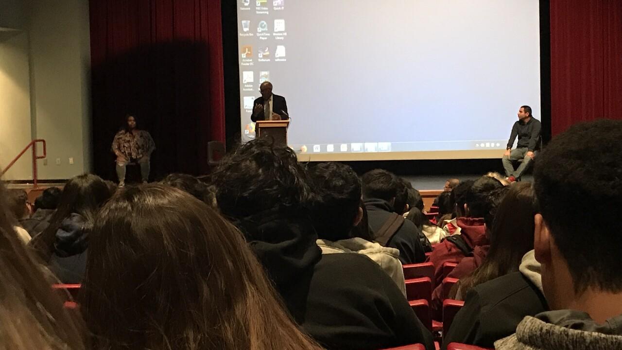 Western High School students hear anti-violence message