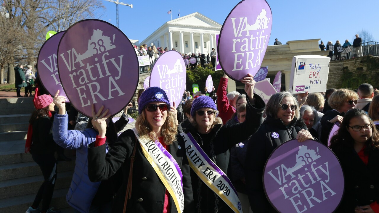 Virginia becomes 38th state to ratify Equal Rights Amendment