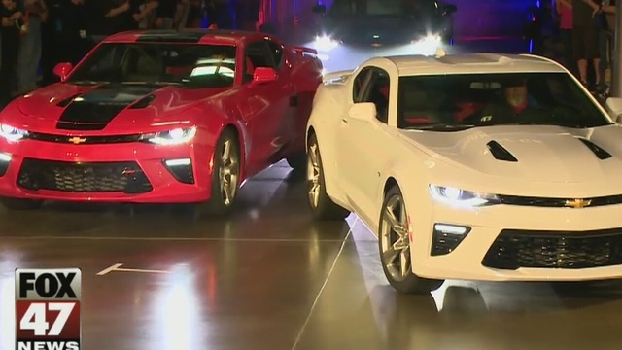 6th Generation Camaro named Car of the Year