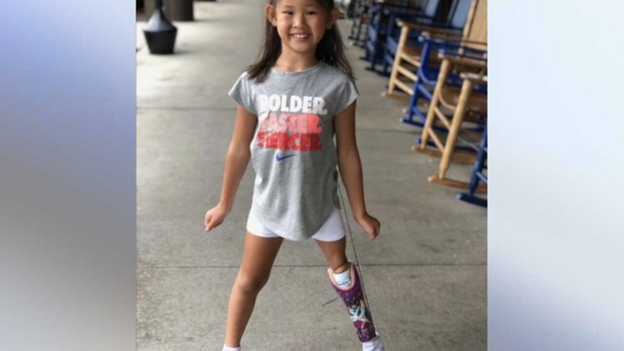 New leg brings new possibilities for Anna Grace