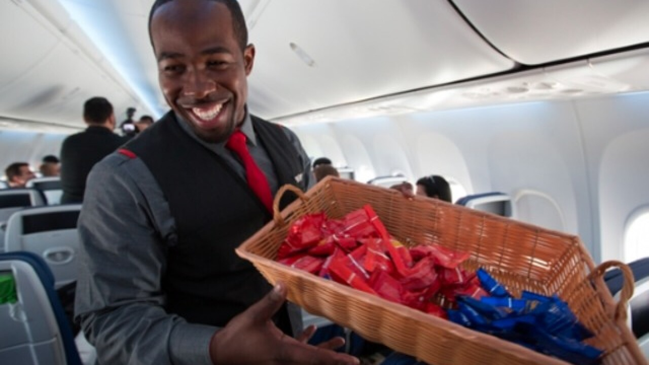 Southwest Airlines to end giving away peanuts aboard flights