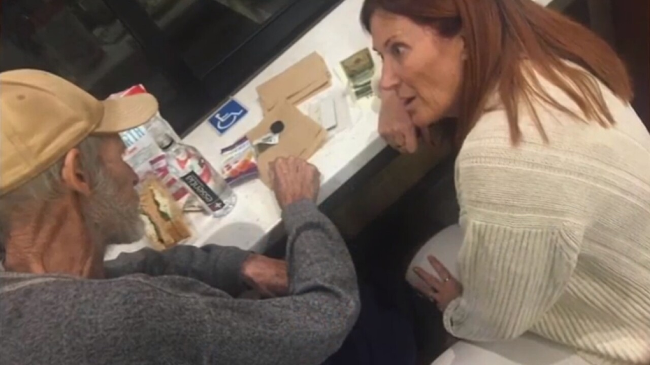 couple helps homeless vet