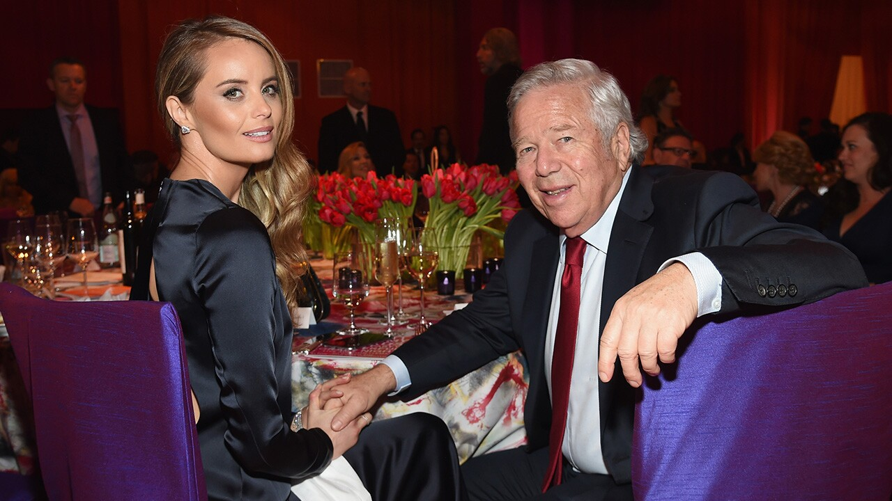 Robert Kraft and actress Ricki Noel Lander in 2016