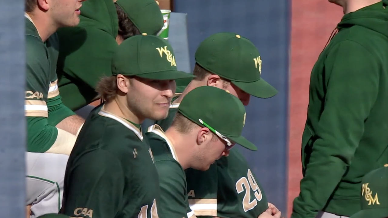 Eight unanswered runs propel William & Mary baseball to convincing 9-3 victory at UVA