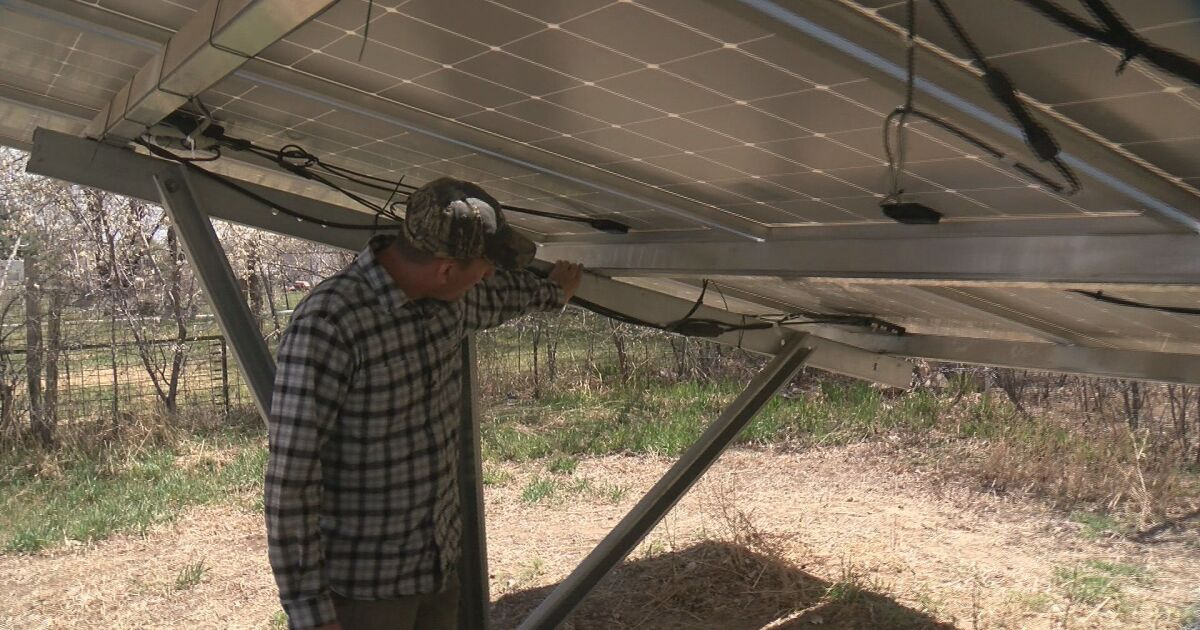 Steel City Solar is ending a homeowner's solar system after a previous company left the job