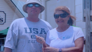 Dave Dahlstrom and wife Cindy