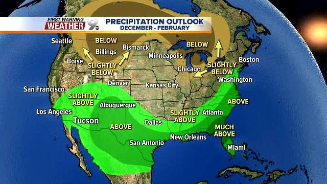Moderate El Niño expected to develop this winter