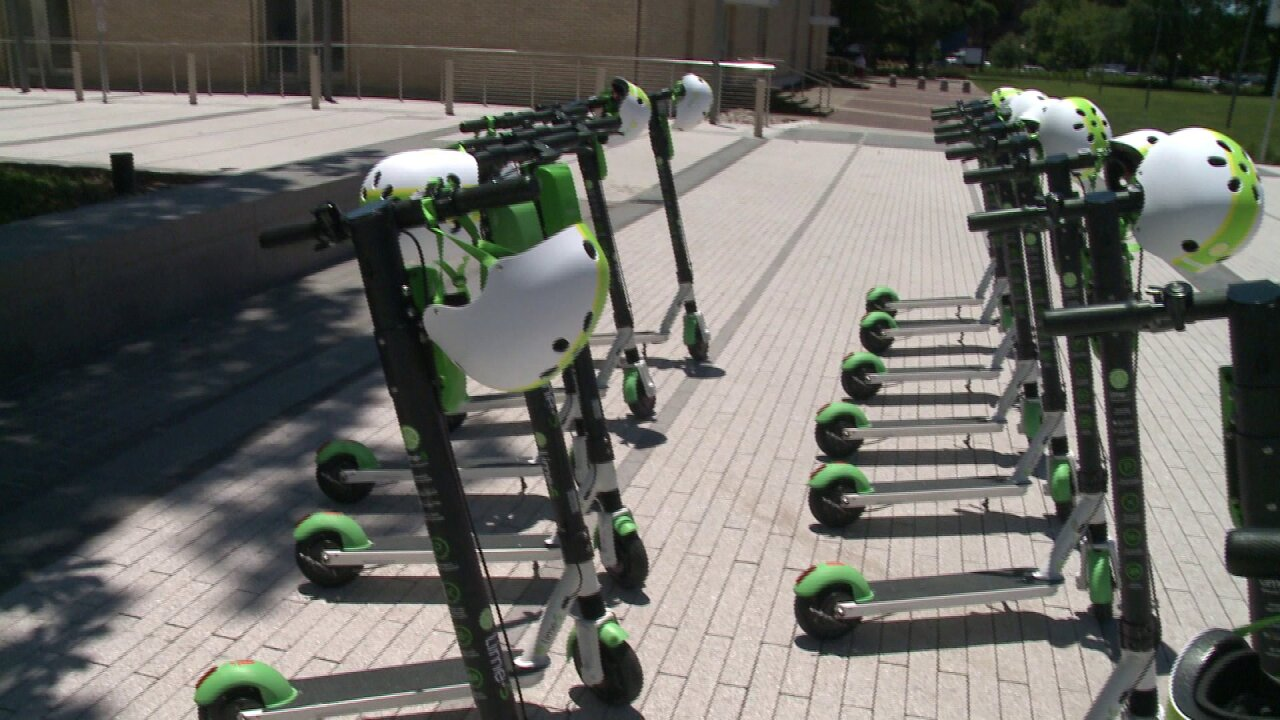 Lime scooters hit the streets in Norfolk