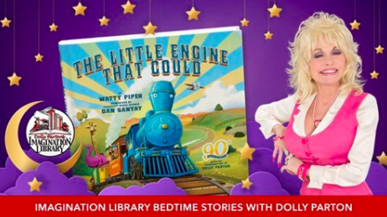 "Country music star Dolly Parton to read bedtime stories during online series ""Goodnight with Dolly"""