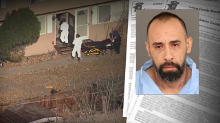Affidavit: Daughter led police to dad's murder victim encased in concrete in Colorado basement