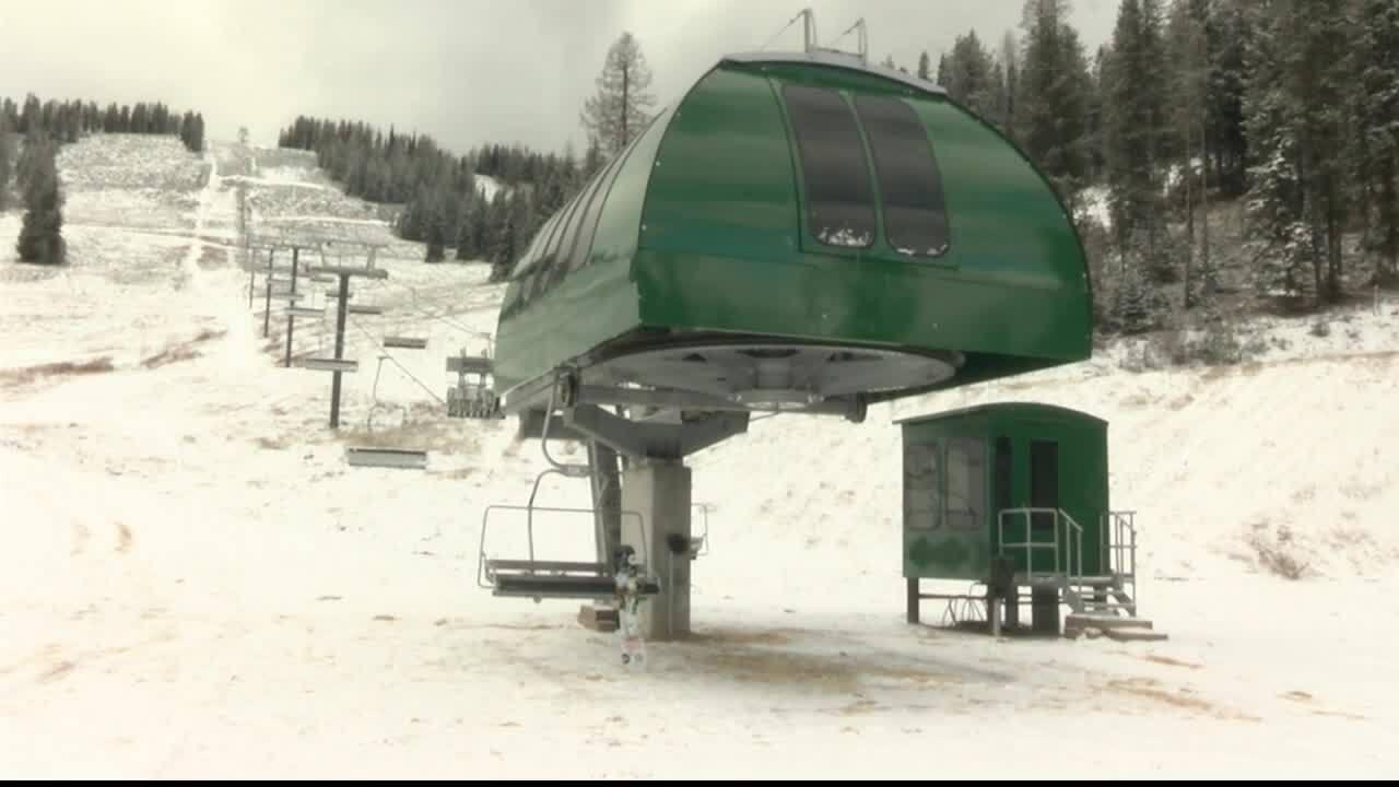 new ski lift